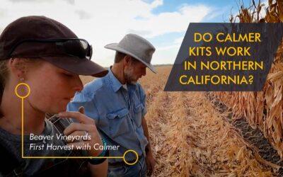 Beaver Vineyards farm Recommends Calmer Kit